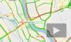 Пробка от КАД до Софийской улицы не может рассосаться уже два часа