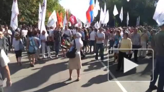 Оппозиционеры отметят годовщину путча у Белого дома