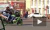 Дерзкое видео из Кемерово: мотоциклист устроил погоню в центре города