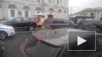 На Невском проспекте столкнулись три иномарки