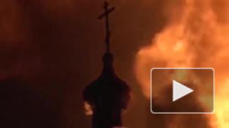 В Хабаровске взорвали бизнесмена Владимира Фукалова и сожгли его детище - храм Александра Невского