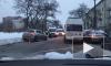 Рассеянный с улицы Бассейной: водитель не справился с управлением и вылетел на обочину