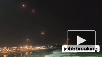 ХАМАС выпустила в сторону Тель-Авива десятки ракет