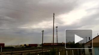 Жителей Байконура накрыло ядовитым облаком после взрыва