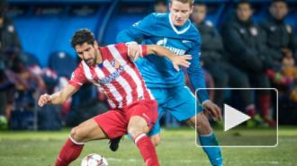 Автогол Атлетико сохранил Зениту шансы на плей-офф (видео)