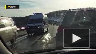Шесть человек пострадали в ДТП с автобусом под Новосибирском