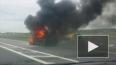 """Появилось видео горящего """"Фольксвагена"""" на газу у ..."""