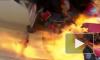 Автомобиль гонщицы взорвался на трассе на скорости 500км в час