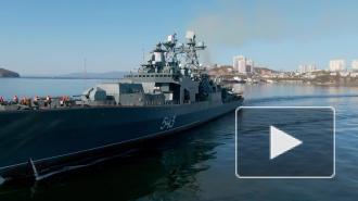 """""""Маршал Шапошников"""" выполнил пуск крылатой ракеты """"Калибр"""""""