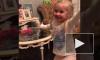 Лиза Галкина исполнила победный танец