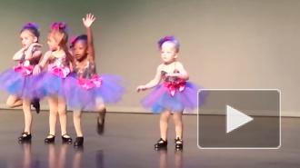 Очаровательная малышка, танцующая степ, взорвала интернет