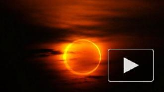 Солнечное затмение 29 апреля: фото появились в интернете, земляне увидели огненное кольцо в небе