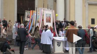 Крупный католический праздник отметили в центре Петербурга