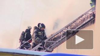 В пожаре на мясокомбинате в Новой Москве пострадали 8 человек, больных эвакуировали вертолетом