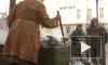 Песнями и горячим чаем отметили праздник в Петербурге