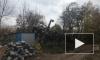 В Нижнем Новгороде на детский сад упал кран, крановщик попытался сбежать
