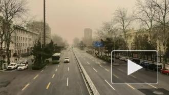 Облако мелкого песка накрыло Японию и Южную Корею