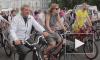 В День строителя чиновники и горожане пересели на велосипеды