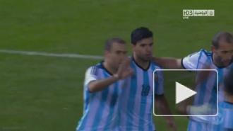 Дубль Агуэро принёс Аргентине победу над Боснией и Герцеговиной