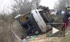 Опубликовано видео из Польши, где в ДТП с автобусом пострадали петербужцы
