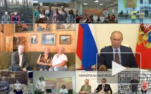 Игорь Виноградов попросил Путина сделать в Петербурге батутный зал для спортсменов