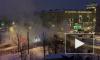 Появилось видео с места прорыва трубы с кипятком на Кронштадской
