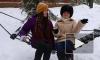 Снежные бои, ватрушки и полет на воздушном шаре - в зимнем репортаже Piter.TV