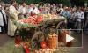 В священный праздник жадные петербуржцы расхватали яблоки за десять минут