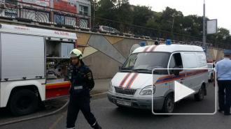 Под Новороссийском загорелся автобус с 43 пассажирами