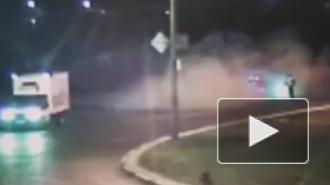 Смертельное видео из Воронежа: легковушка протаранила столб