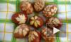 Как красить яйца в луковой шелухе с узором, с зеленкой, мраморные или с рисунком