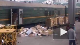 """Видео разгрузки посылок """"Почтой России"""" возмутило россиян"""