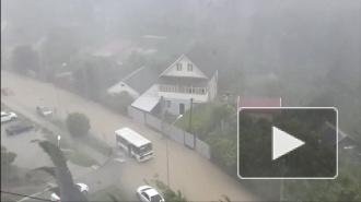 Смерч и наводнение в Туапсе: видео свидетелей открыли ужасы разгула стихии