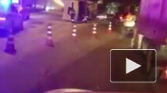 Видео из Москвы: В ДТП у фуры оторвало кабину и выбросило через отбойник на встречку