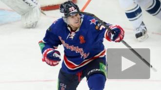СКА обыграл московское Динамо, ударив звеном Мортенссона