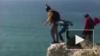 Смертельное видео из Португалии: У бейсджампера не раскрылся парашют
