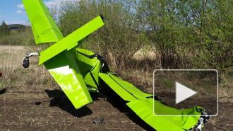 В Татарстане разбился при посадке легкомоторный самолет