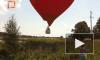 Красный воздушный шар с Чуровым упал в болото у Селигера