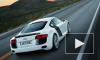 Audi R8 перевернул «Ладу» на Воробьевых горах