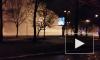 Кошмарный прорыв трубы на Васильевском острове попал на фото и видео
