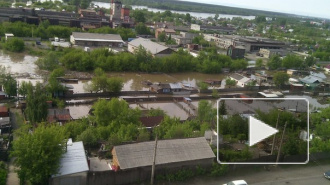 Наводнение в Алтайском крае: в Бийске затопило центр города, эвакуируют пациентов горбольницы