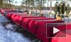 Видео: церемония захоронения останков бойцов Красной Армии в Каменке