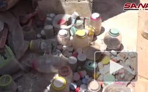 В Сирии нашли домашнюю лабораторию боевиков с человеческими органами