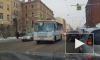 На Кондратьевском проспекте маршрутка сбила пешехода