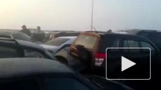 Авария в Жуковском: видео столкновения более 30 машин вводит в ступор, есть пострадавшие