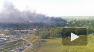 Новости Украины: артиллерия обстреливает химзавод в Горловке, есть опасность масштабной экологической катастрофы