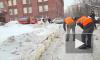 Смольный отчитался об уборке Петербурга от снега: снегоплавильные центры переполнены, но дороги очищены