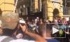 Появилось видео митинга сторонников Савченко у стен администрации Порошенко