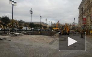Прощай, шаверма: первые фото Сенной площади без ларьков