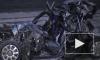 """На Калужском шоссе столкнулись 11 машин: Водителя """"Рено"""" раздавило между фурами"""